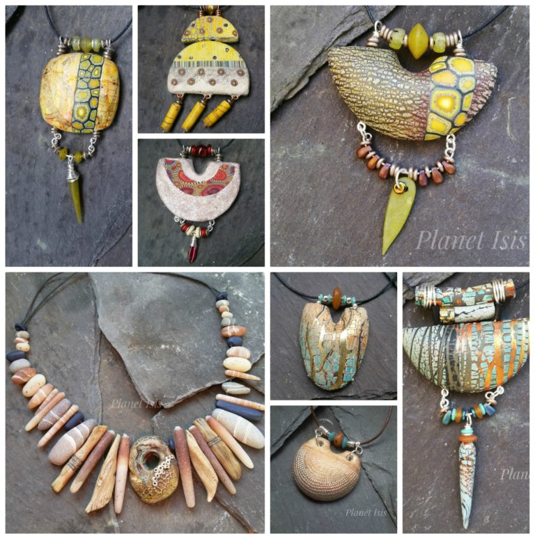 rustic pendants collage 2019