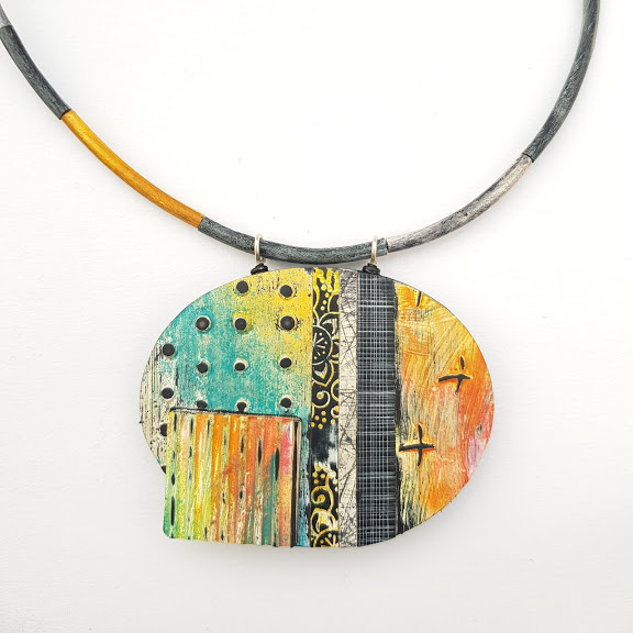 California Dreaming Art Pendant