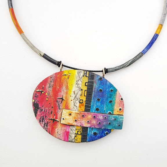 'Reclamation' Art Pendant