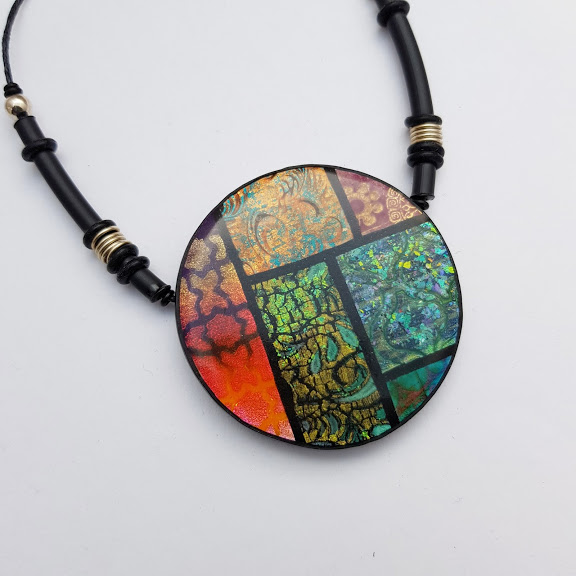 Marrakesh Reversible Disc Pendant