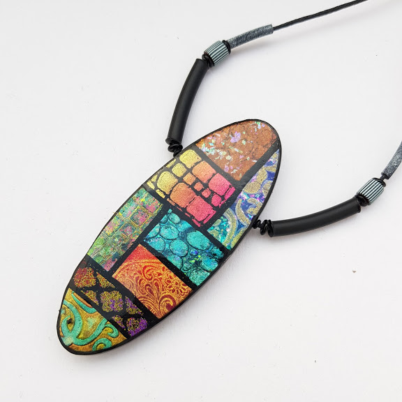 Oval Marrakesh Reversible Pendant