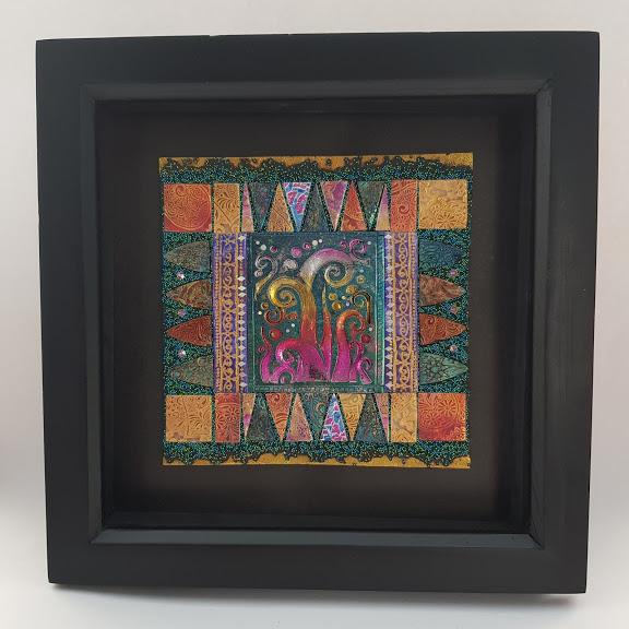 Art Mosaic-Rising Swirl