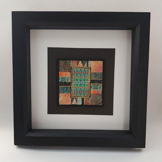 Art Deco Mosaic Tile-Iris 1