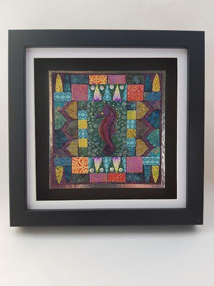 Art Mosaic-Seahorse