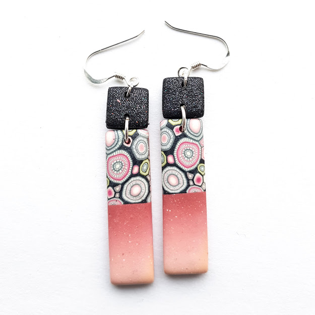 Sparkle Double Dangle Earrings
