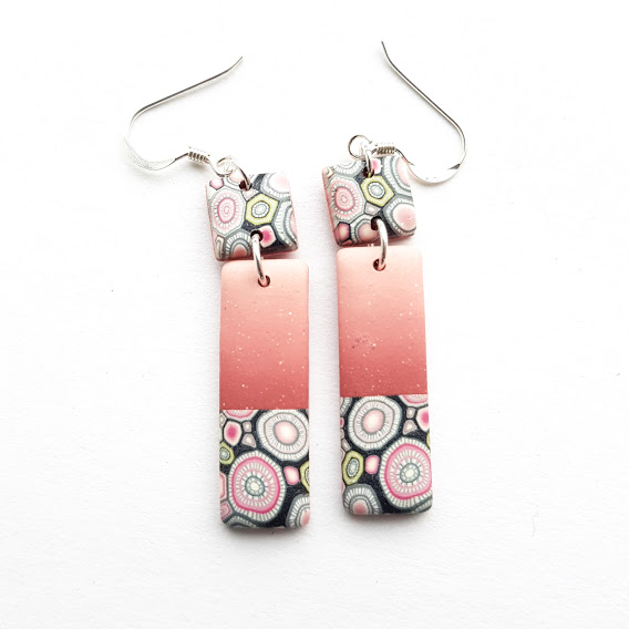 Rosa Rosa Double Dangle Earrings