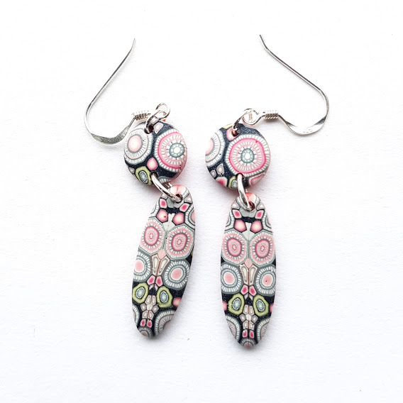 Rosa Rosa Marquis Double Dangle Earrings